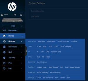 HP Comware Cihazlarda Web Arayüzü Aktif Etme