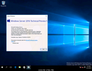 Windows Server 2016 Technical Preview 5 çıktı