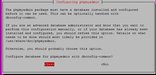 Ubuntu 16.04 phpMyAdmin Kurulumu
