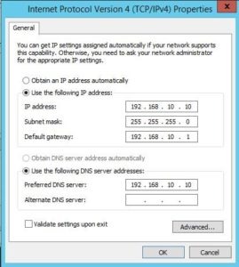 Windows Server 2012 R2 AD Kurulumu
