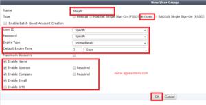 Fortigate IP-MAC Eşleşmesi