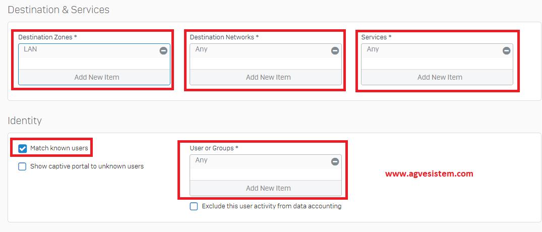 Sophos XG Firewall'da Uzaktan Erişim için SSL VPN Ayarı | Ağ ve Sistem