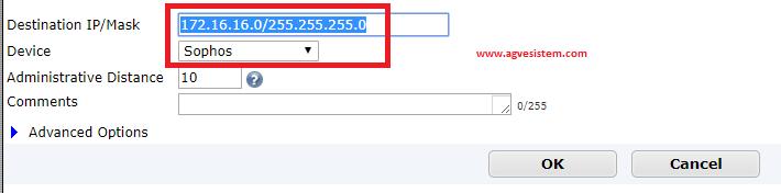 Sophos ile Fortigate Arasında Site to Site VPN Ayarları