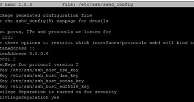Ubuntu Sunucu'da SSH Portu Değiştirme