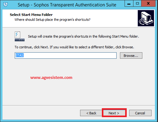 Sophos AD Entegrasyonu (STAS ile Kurulum)