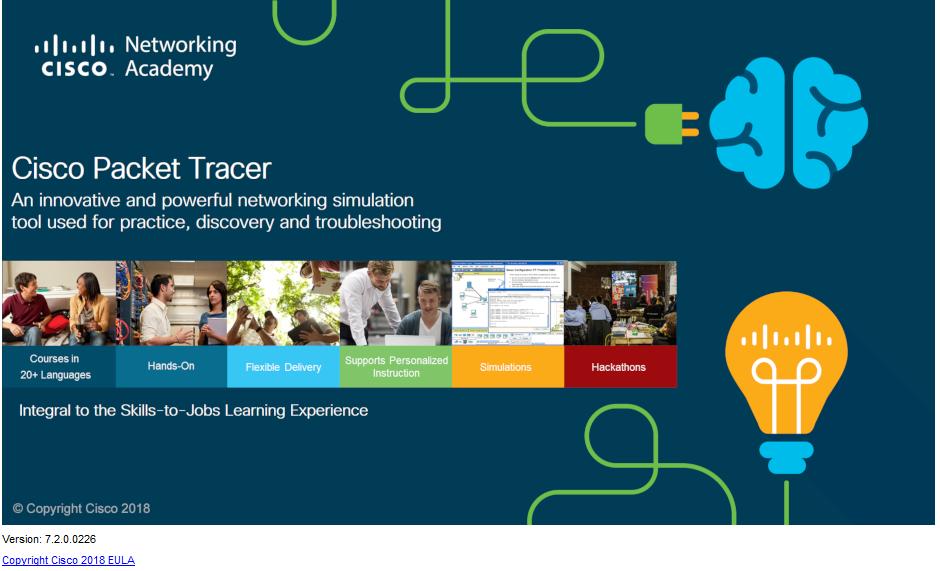 Cisco Packet Tracer 7.2 Kurulumu